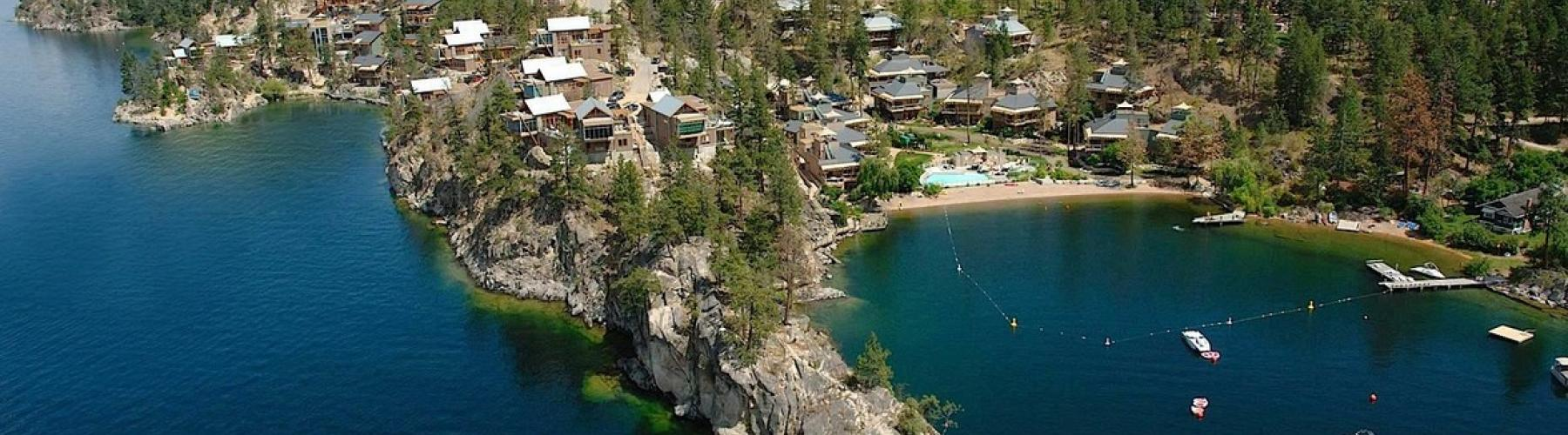 Aerial View Of Outback Vacation Homes